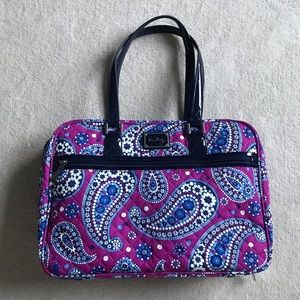 Vera Bradley Companion Attaché (Boysenberry)